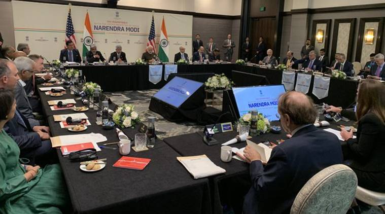 PM Modi's first stop in Houston: Meet with energy CEOs