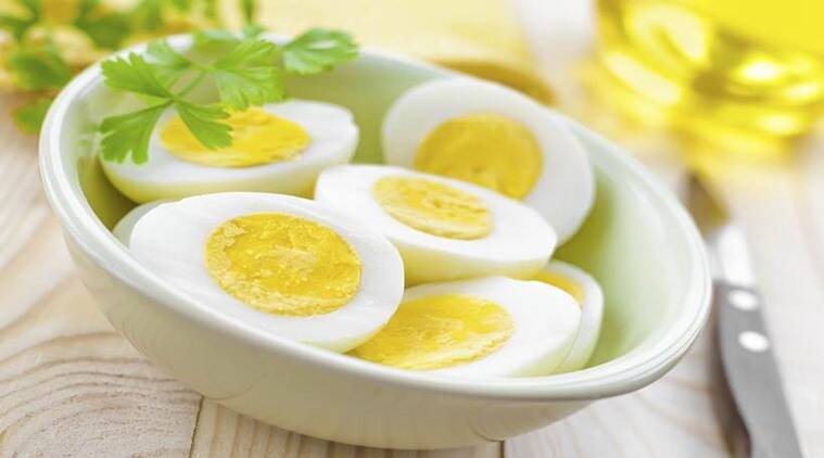 eggs, boiled eggs, protein in eggs, protein deficiency, indian express news