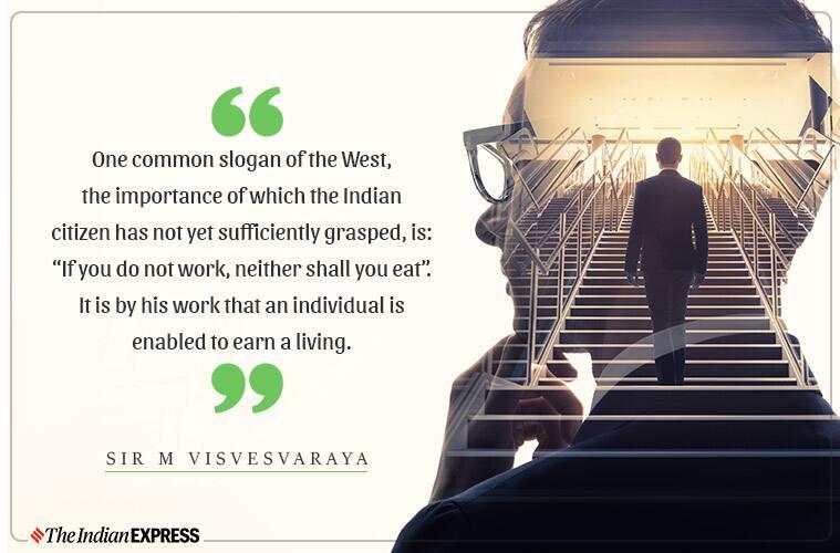 Sir M Visvesvaraya, Sir M Visvesvaraya birth anniversary, engineer's day India, engineer's day, who was Sir M Visvesvaraya, Sir MV, Visvesvaraya, civil engineering, civil engineer, lesser known facts about Sir M Visvesvaraya, Sir M Visvesvaraya quotes, inspiring life Sir M Visvesvaraya, indianexpress.com, indianexpress,