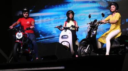 chandigarh news, e-scooter, e-bike project, e-scooter mobility, indian express