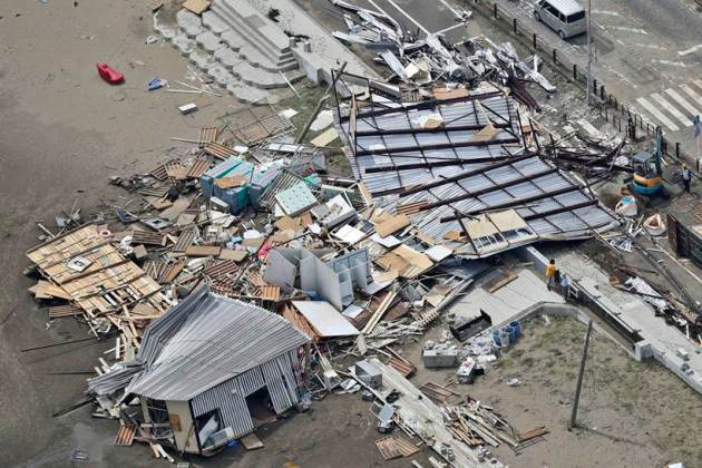 typhoon faxai, tokyo typhoon faxai, typhoon faxai death toll, typhoon faxai damage, world news, indian express