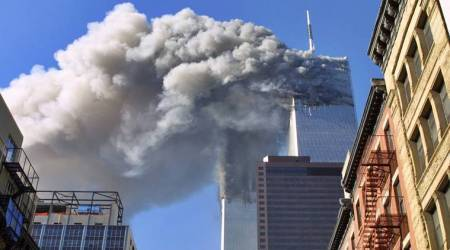 9/11 tributes, world trade centre attack, 9/11 terror attack, september 9/11 attacks, 18th anniversary, united states, al qaeda, donald trump, white house, melania trump, world news, indian express