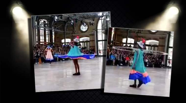 Paris Fashion Week: Models get dressed on the runway at Issey Miyake Spring/Summer 2020 show