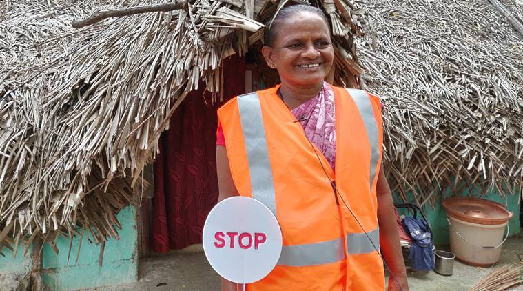 Meet Bayamma, Chennai's special traffic warden