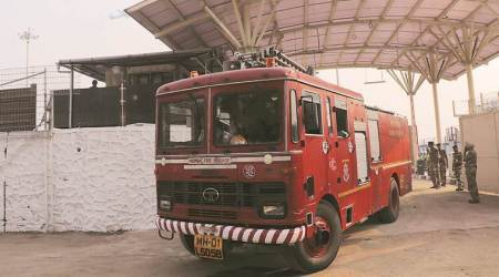 Chandigarh fire safety certificate for buildings, Chandigarh fire brigade charges, Chandigarh fire brigade, Chandigarh news, indian express