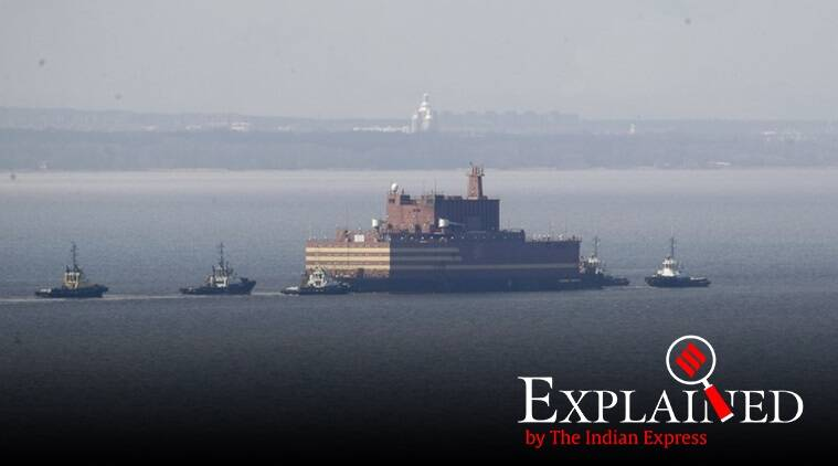Russia, Moscow, Russia first floating nuclear plant first floating n plant, worlds first floating nuclear plant, indian express