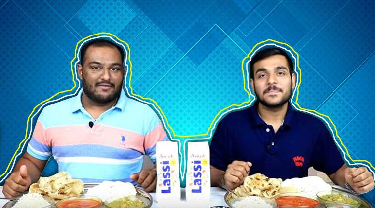 food eating challenges, YouTube, professional eating, Indian Express, Indian Express news
