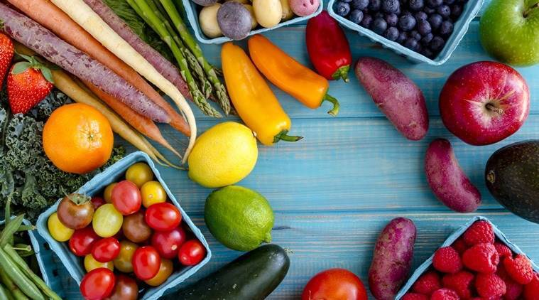fruits and vegetables, benefit of fruits and vegetables, indian express, indian express news