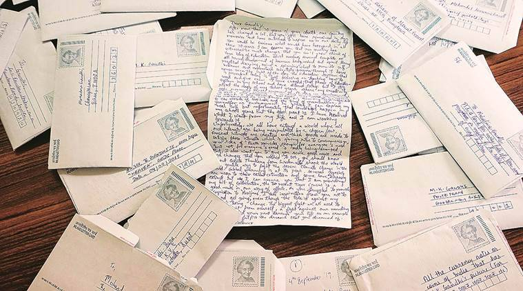 Letters to Gandhi, Students, Eye 2019, Sunday Eye, Indian Express, Indian Express news