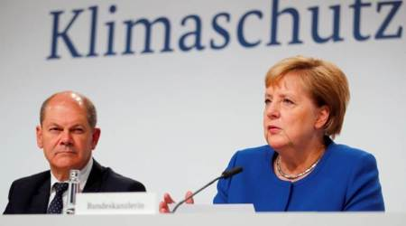 germany, germany climate talks, climate rescue measures, Angela Merkel, germany challeor, indian express