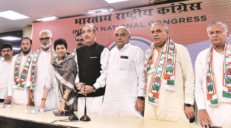 Another jolt to INLD: Party's former state unit chief, other leaders join Congress