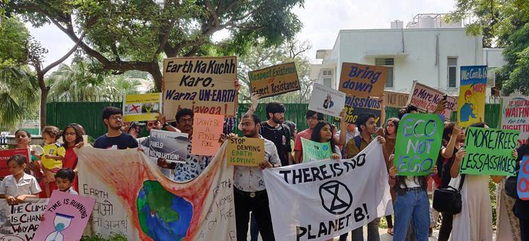 'There's no Earth B': Scores of Delhi students skip school to support global climate change strike