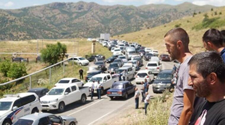 'Our water is our gold': Armenians blockade controversial mine