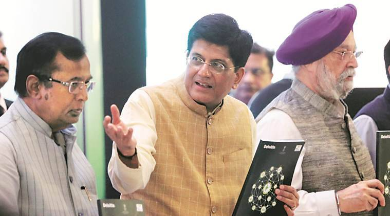 Goyal quotes Einstein, says 'one who never made a mistake, never tried anything new'