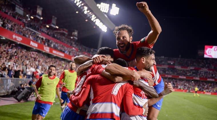 Granada Stun Dismal Barcelona To Go Top Of La Liga Indibuzzonline Com