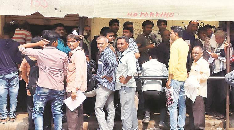 Regional Transport Office, social distancing, AHmedabad news, Gujarat news, Indian express news