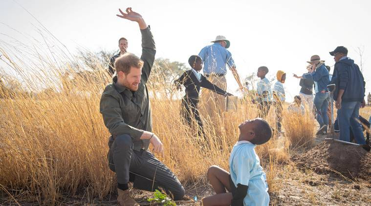 Prince Harry to visit Angola de-mining project, in Diana's footsteps