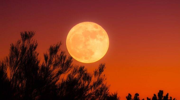 A full Harvest Moon will arrive on Friday the 13th this week