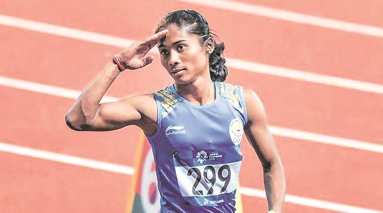 In Olympic year, Hima Das makes a shift from 400m to 200m