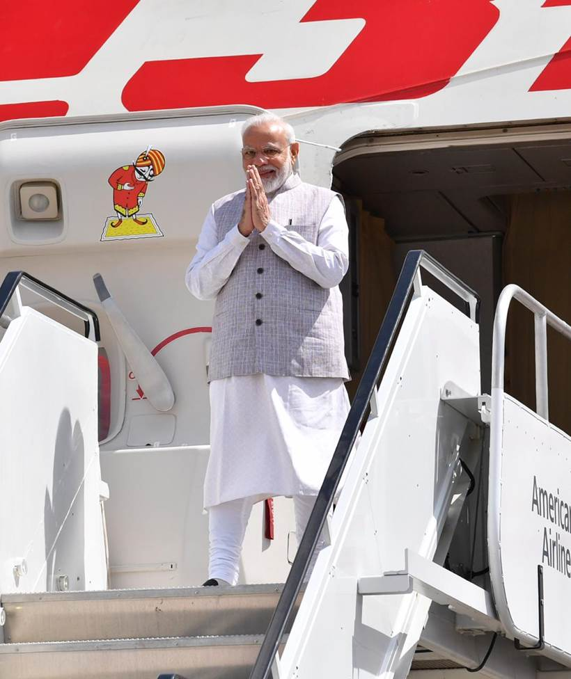 Howdy Modi, PM Howdy Modi, PM Modi in Houston, Howdy Modi Houston, Modi in Houston, Houston Howdy Modi, Howdy Modi event, Howdy Modi event Houston, India news, Indian Express