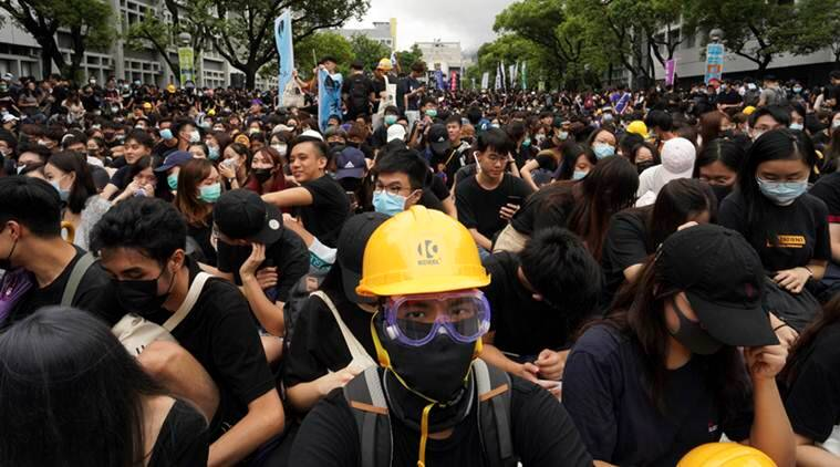 Hong kong protest, hong kong government, hong kong political crisis. former ruler britain, china, world news, indian express