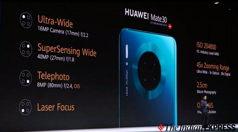 Huawei Mate 30, Mate 30 Pro, Mate 30 RS without Google Play services launched