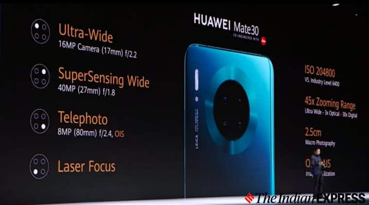 Huawei Mate 30 Pro, Huawei, Huawei Mate 30, Huawei Mate 30 Pro launched, Huawei Mate 30 Pro price, Huawei Mate 30 Pro specs, Huawei Mate 30 Pro specifications