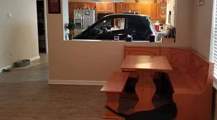 Hurricane Dorian: Florida man parks Smart car in kitchen so it won't blow away
