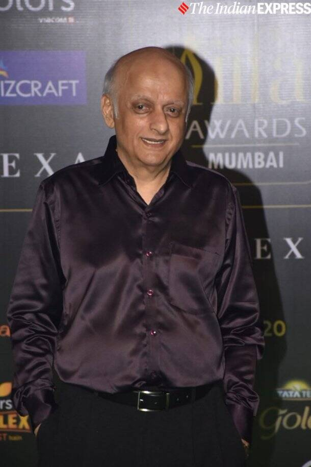mukesh bhatt at at IIFA 2019