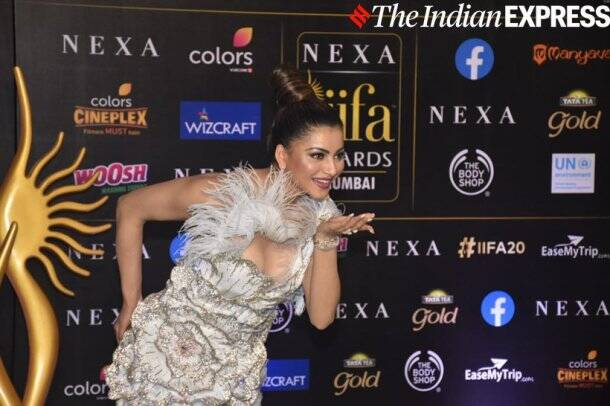 Urvashi Rautela at IIFA 2019