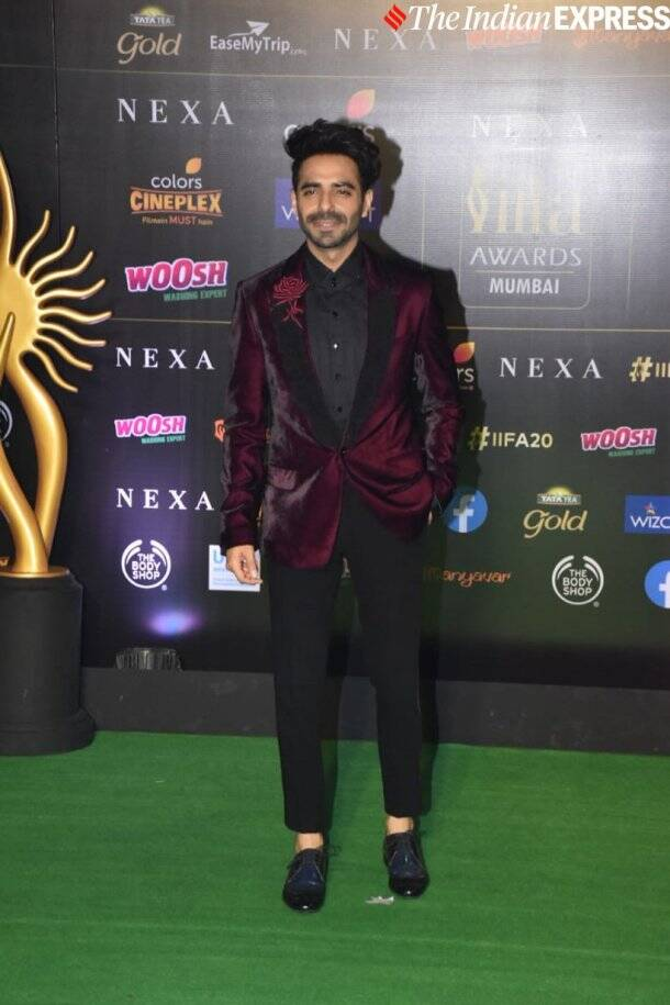 aparshakti khurrana at at IIFA 2019