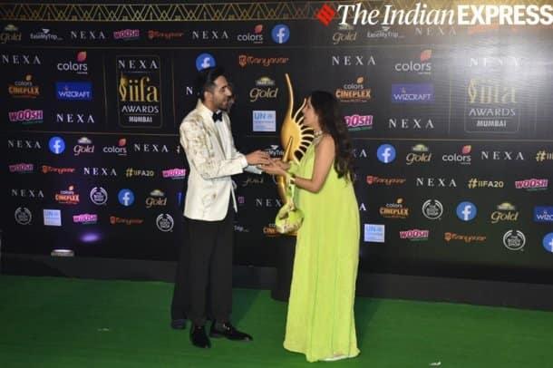 Ayushmann khurrana with neena gupta