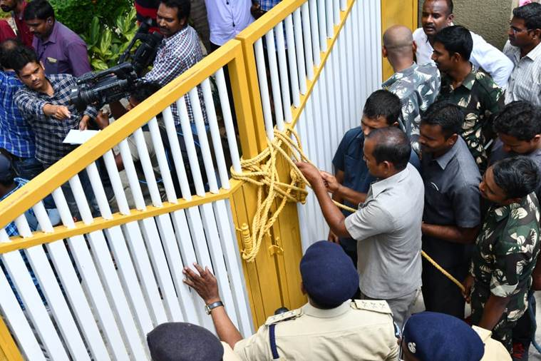Image result for chandrababu house arrest