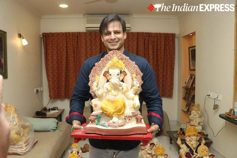 Vivek Oberoi Ganapati celebrations