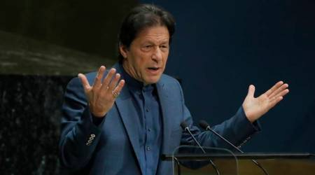 Pakistan Prime Minister, Imran Khan tweet, up police, india news, pakistan news, indian express news