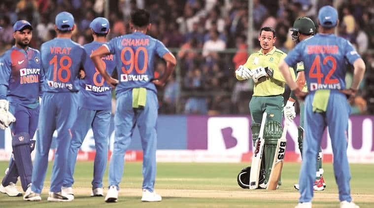 india vs south africa, ind vs sa, quinton de kock, cricket match, cricket match today, cricket scores, india cricket scores, india match today, cricket news, sports news, indian express