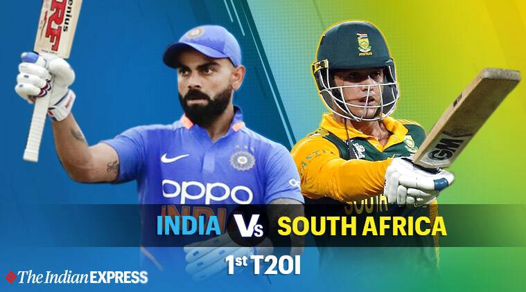 India vs South Africa 1st T20I Highlights: Match abandoned without a ball being bowled