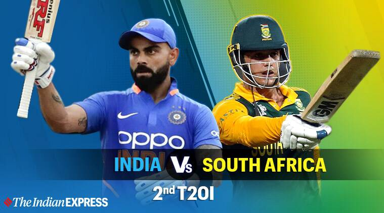 India Vs South Africa 2nd T20 Live Cricket Score Online The