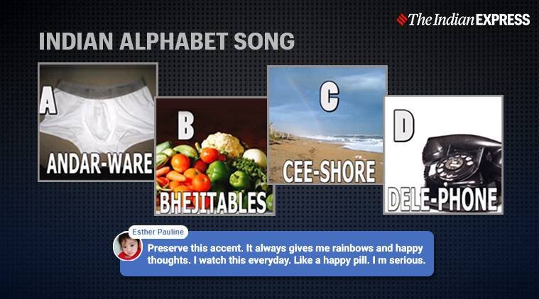 Watch: The alphabet song with an Indian twist has netizens