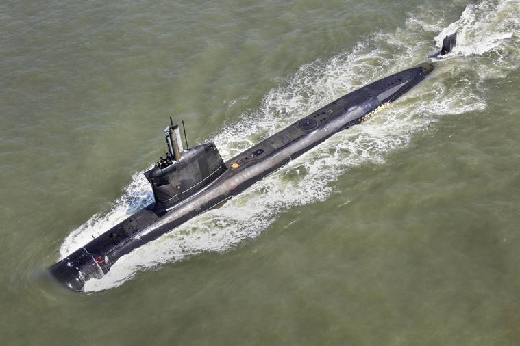 India's second scorpene-class submarine INS Khanderi inducted into Navy