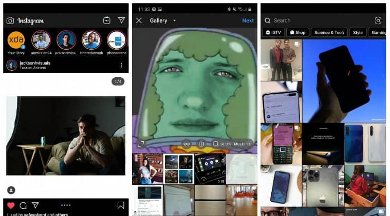 Instagram, Instagram Dark Mode, Instagram new feature, Instagram Facebook Dark Mode