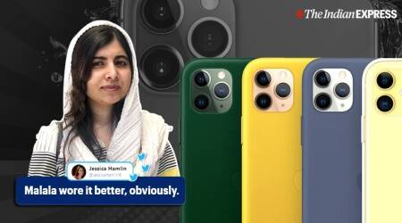 Malala Yousafzai, apple event, iphone 11, iphone 11 pro triple camera, malala iphone 11 meme, funny tweets, viral news, indian express