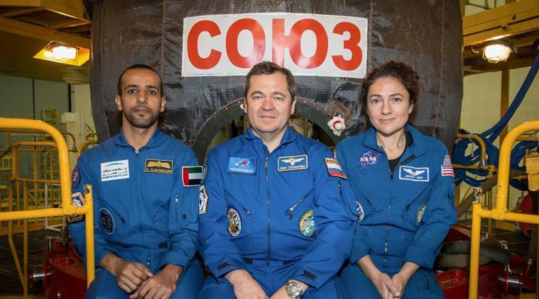 The first United Arab Emirates astronaut is heading to the space station