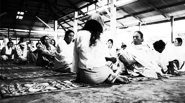 Irom Sharmila, Irom Sharmila political activist, Political activist Irom Sharmila, activist Irom Sharmila, Art Gallery, New Delhi Art Gallery, Indian Express