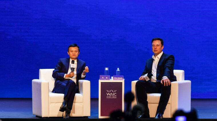 elon musk, jack ma, artificial intelligence, ai technology, risks and rewards of ai technology, elon musk on ai technology, jack ma on ai technology