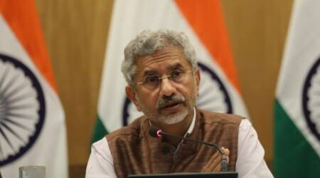 jaishankar on kashmir, jaishankar on Pok, MEA, MEA 100 days, S Jaishankar, India Pakistan relations, MEA India Pakistan, Jaishankar India Pakistan, indian express