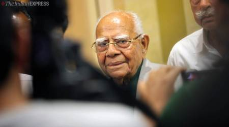 Ram jethmalani dead, Who was Ram jethmalani, Ram Jethmalani cases, Ram jethmalani BJP, India news, Indian Express