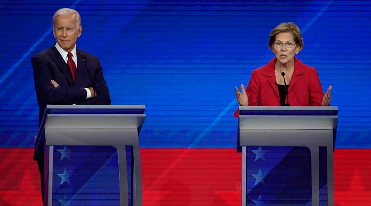 Warren becomes latest ex-presidential rival to back Biden
