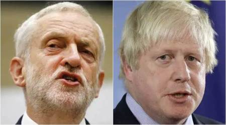 """""""Chlorinated chicken"""" and a """"big girl's blouse"""" - UK PM Johnson taunts Corbyn on election"""