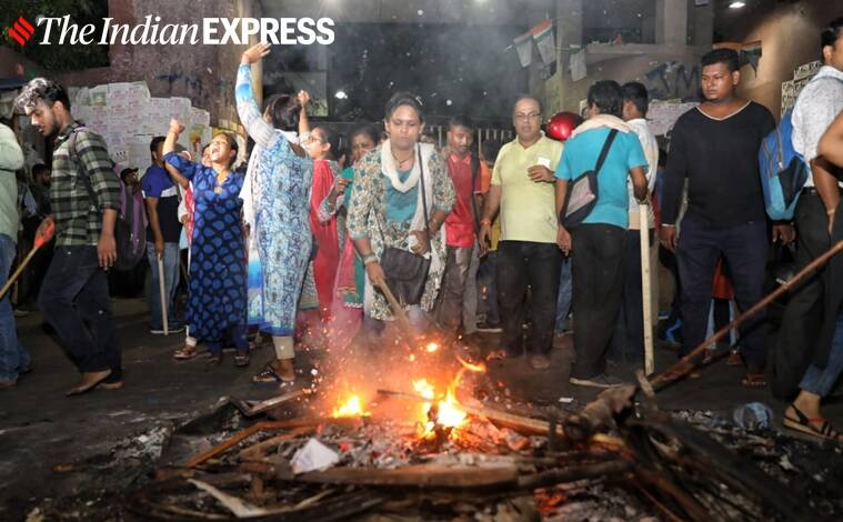 West bengal violence, jadavpur University violence, babul Supriyo, West Bengal government, Mamata Banerjee, India news, Indian express